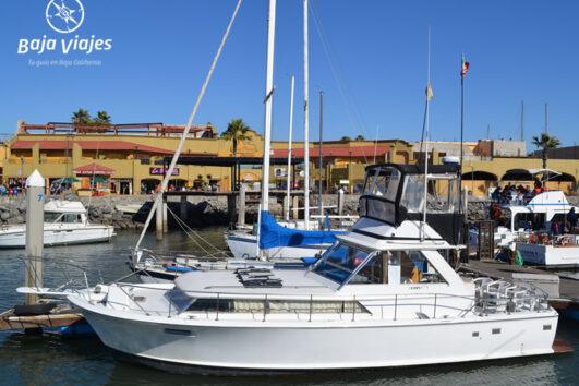 Barco de pesca deportiva para el avistamiento de ballenas en Ensenada
