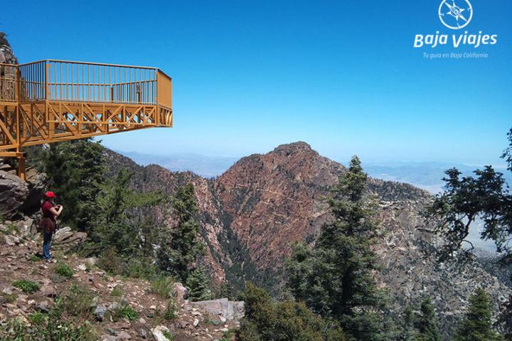 Mirador El Altar, durante el Tour al Parque Nacional Sierra de San Pedro Mártir