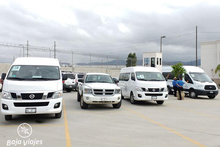 Transporte Turístico en Baja California, Renta de vans, tours y transportación.