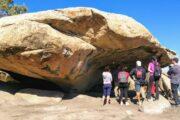 Sitio Arqueológico El Vallecito, en La Rumorosa, Municipio de Tecate, Baja California