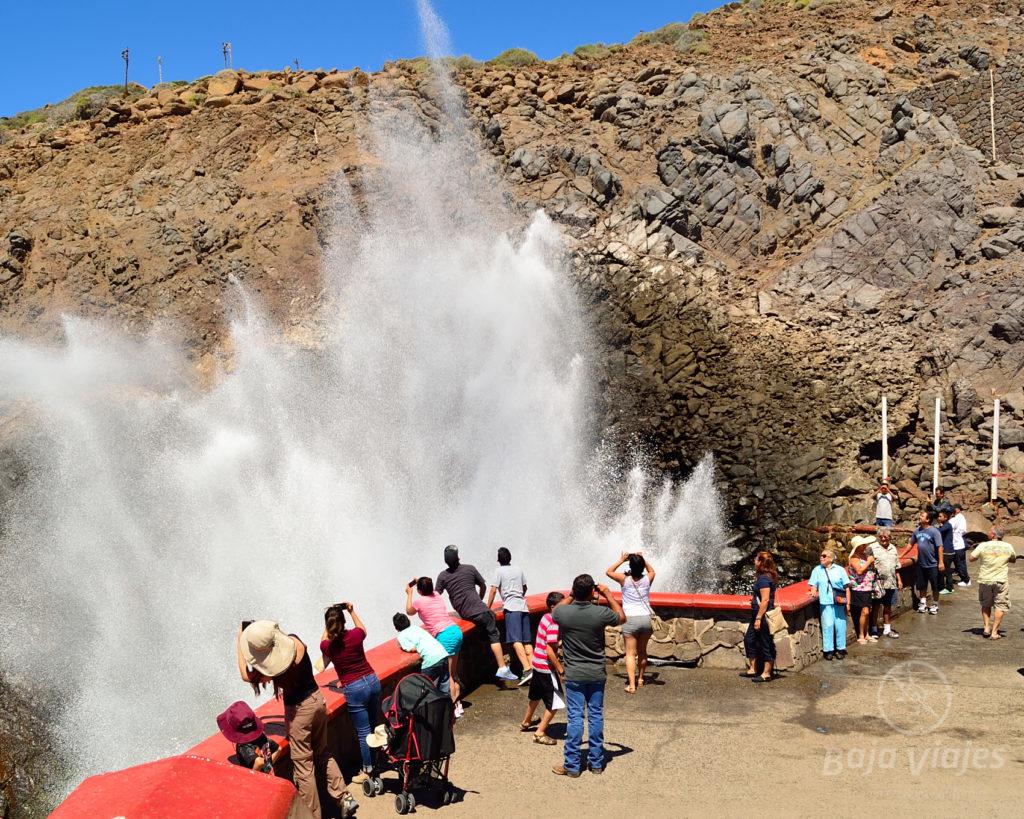 La Bufadora en Ensenada, Baja California