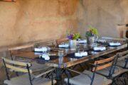 Comedor del Restaurante Deckman's en Valle de Guadalupe