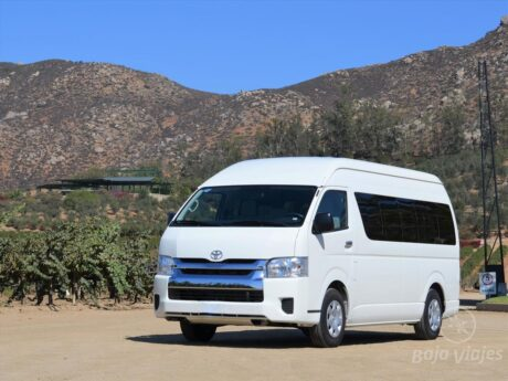 Transporte privado en Valle de Guadalupe